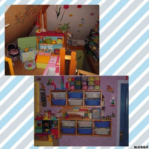 rangement salle de jeux rangement de lutagre dans la salle de jeux dans dco pour les filles. Black Bedroom Furniture Sets. Home Design Ideas