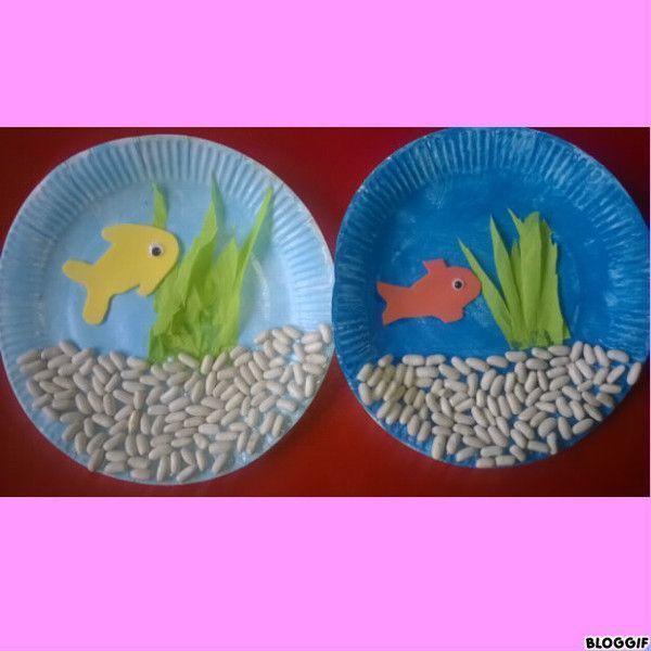 Assez aquariums assiette en carton PW23