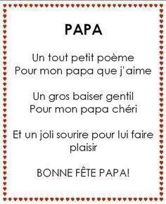 Poemes Pour La Fete Des Peres